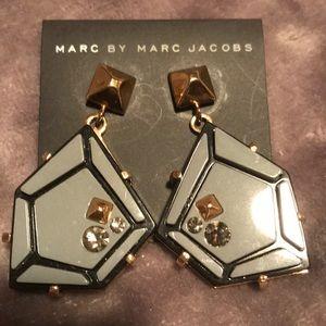 Marc Jacobs Gemstone earrings.